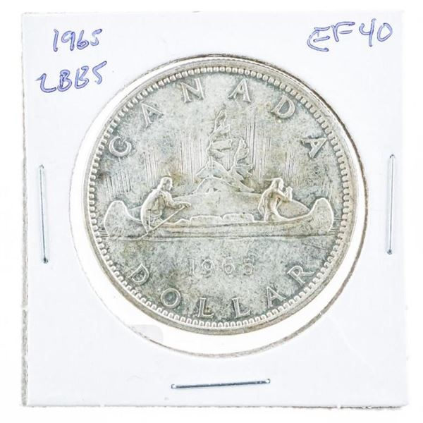 1965 CAD Silver Dollar LB/B5