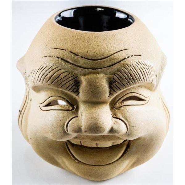 Happy Buddha Oil Burner Handmade