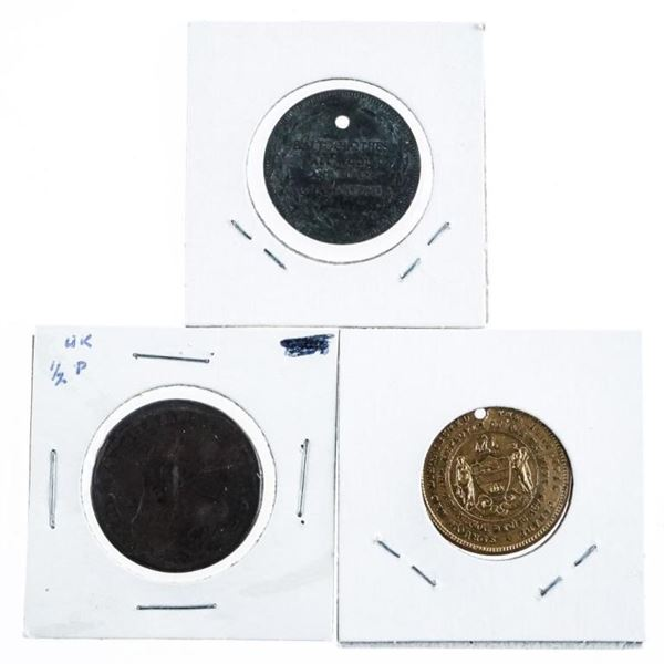 Group of (3) Estate Coins/Tokens