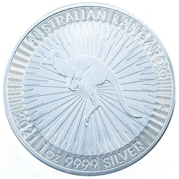 Australian Kangaroo $1 Coin .9999 Fine Silver  - 1oz. Troy