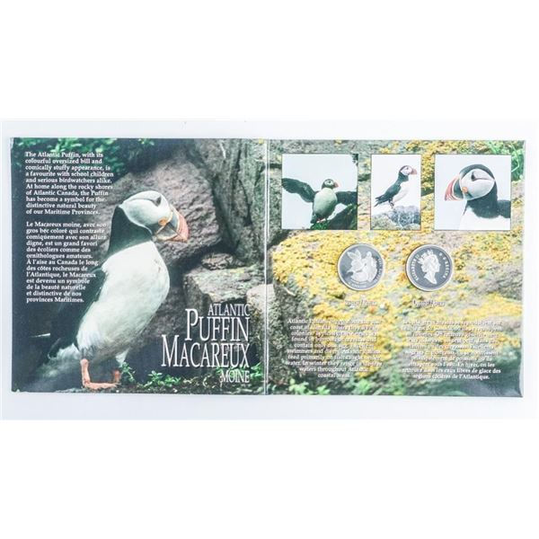 Canada on the Wing Birds of Canada, Two Coin  Set, 925 Sterling Silver 50 Cents