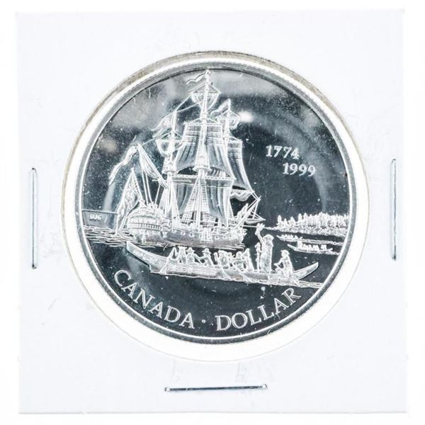 1774-1999 Proof Sterling Silver $1.00 Coin