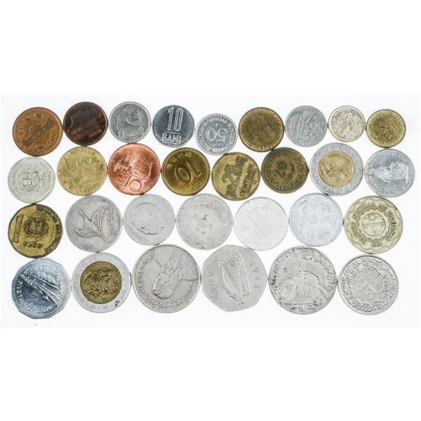 Lot (30) World Coins (639)