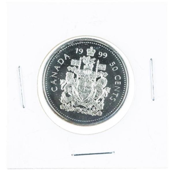 1999 Canada Proof Silver 50 Cents