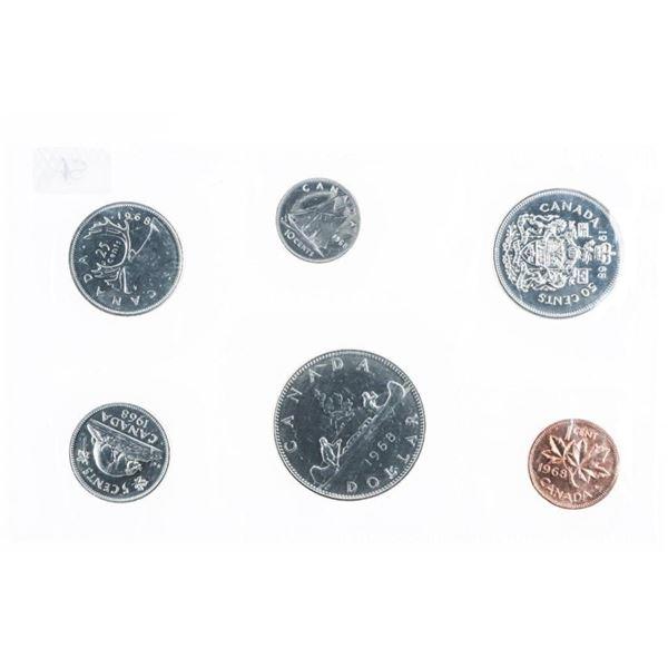 Lot (5) 1968 RCM UNC Coin Sets