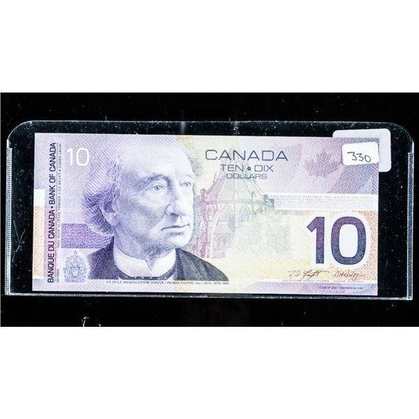Bank of CANADA 2001 10.00 GEM UNC (FEA)  (9-9.72)
