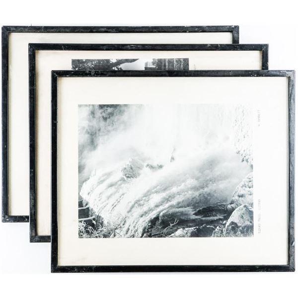 """Lot (3) Framed Vintage Litho's (Estate)  16x20"""""""