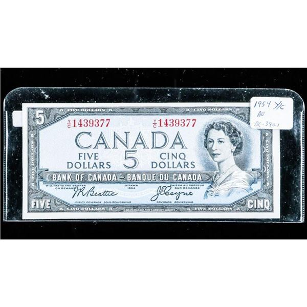 Bank of Canada 1954 5.00 Modified Y/C (B-C)