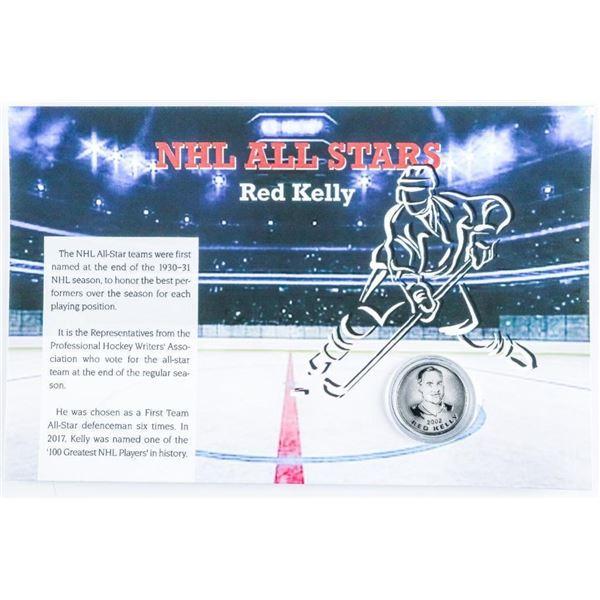 NHL All Stars - Medallion Red Kelly
