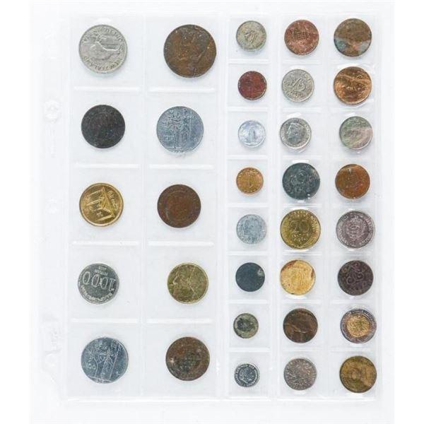 Estate Group (34) World Coins