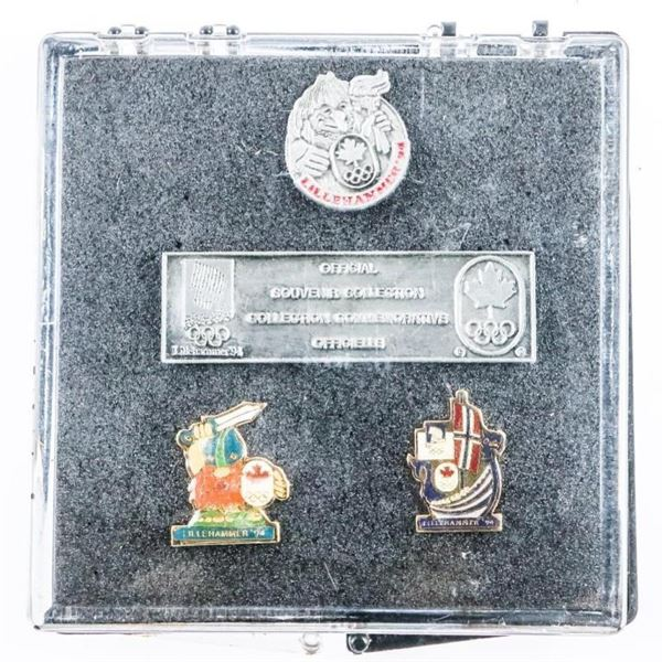 Lillehammer 1194 Olympic Pin Set
