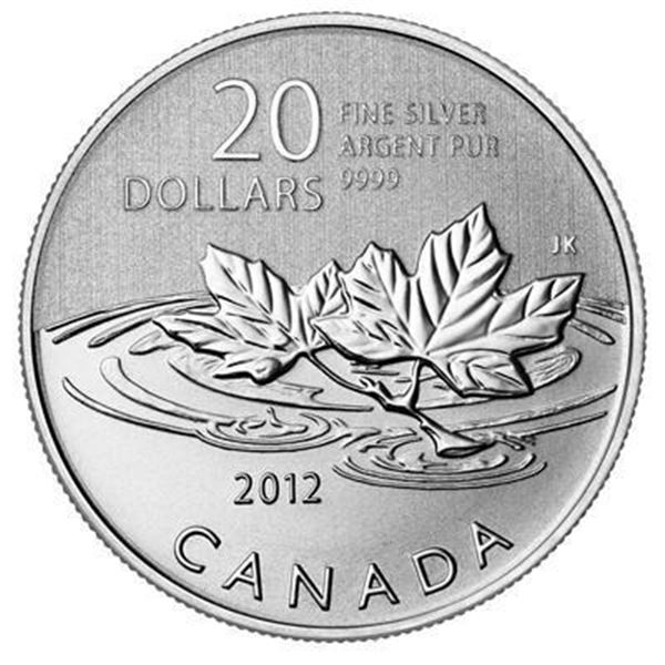 RCM 2012 'Farewell to the Penny' .999 Fine  Silver $20.00 Coin