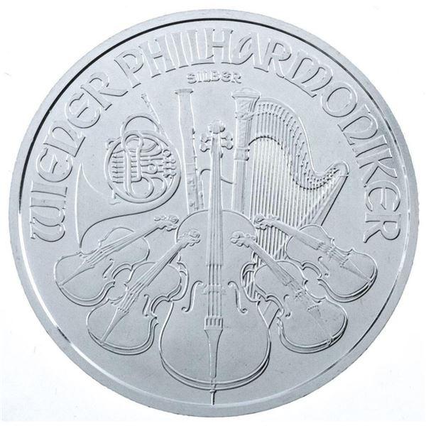 2021 Philharmonic 1.50 Euro .999 Fine Silver  Coin
