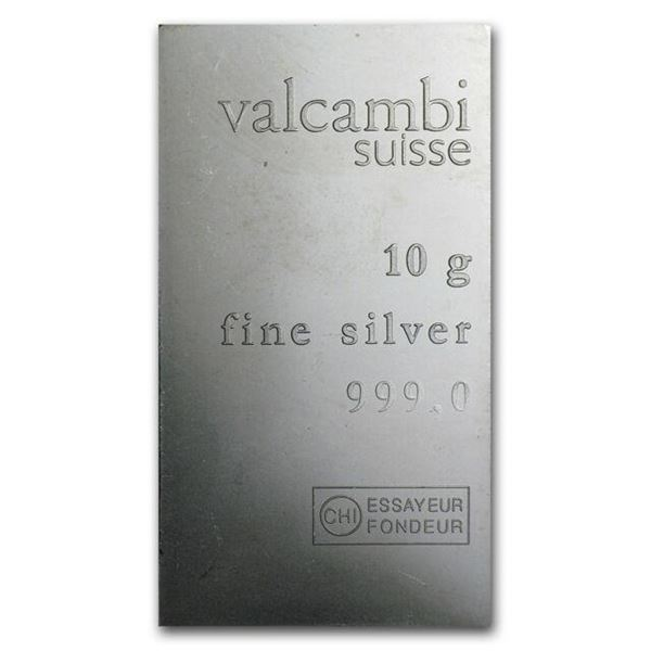 Suisse 999.0 Fine Silver Wafer Style Bar