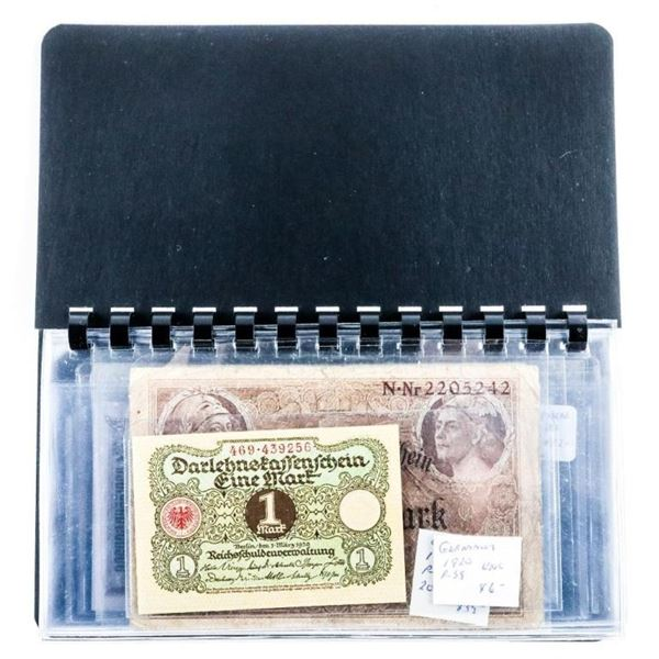 Estate - Currency Album World Notes - FULL
