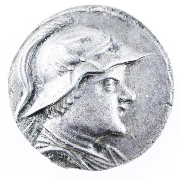 Ancient Coin - Greco - Baktrian Kingdom,  EUKRATIDES I (C 171-135 BC) DR Tetradrachm  Balkh c-170-14