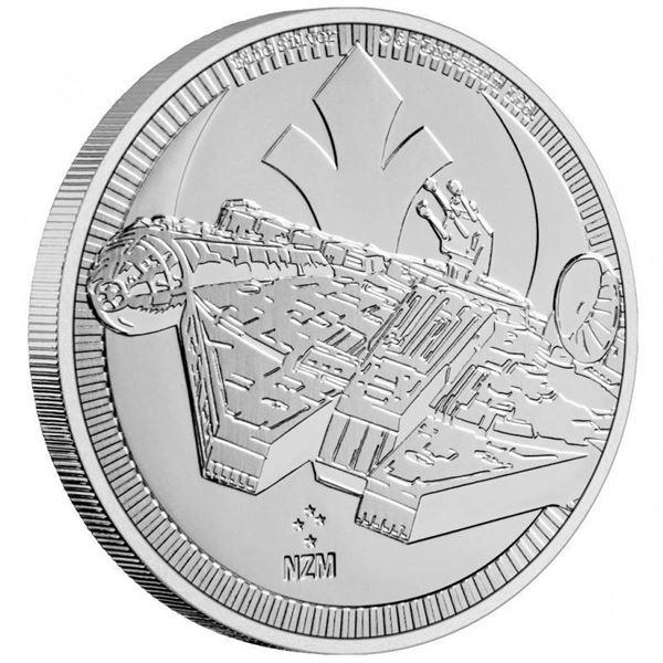 Scare - Star Wars Millennial Falcon $2.00 Round. .999 Fine Silver.