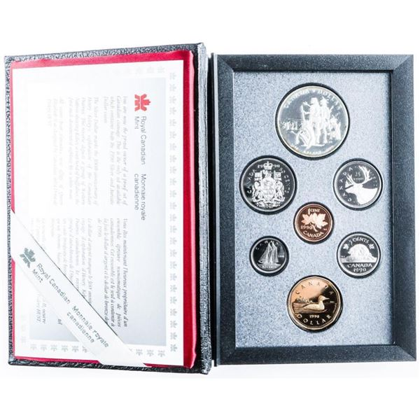 1990 RCM Proof Set w/ Silver Dollar