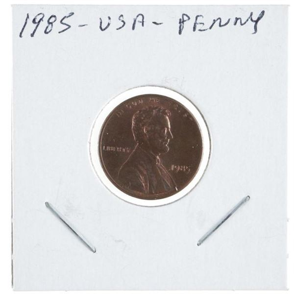 1985 USA Lincoln Cent MS66