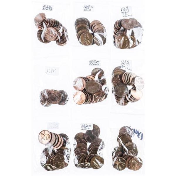 Estate Bag - Approx 200 Coins - USA (AU)(MS65)