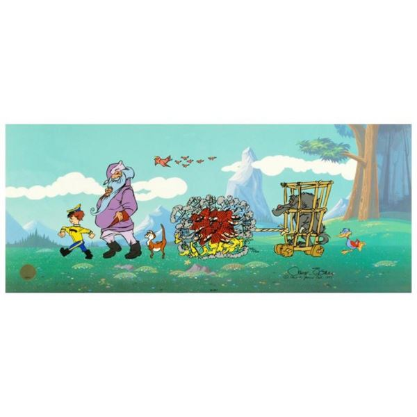"""""""Peter and the Wolf"""" Sold Out. Limited Edition Animation Cel with Hand Painted C"""