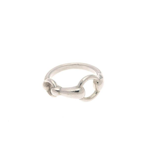 Hermes Silver US 5.5 Ring