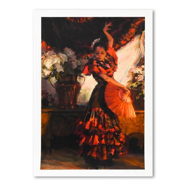 "Dan Gerhartz, ""Viva Flamenco"" Limited Edition, Numbered and Hand Signed with Let"