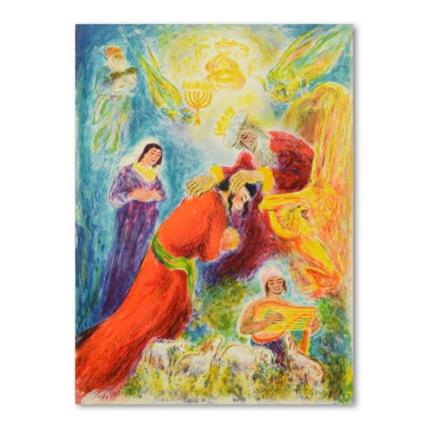 """Ira Moskowitz (1912-2001), """"Blessing"""" Limited Edition Lithograph, Numbered and H"""