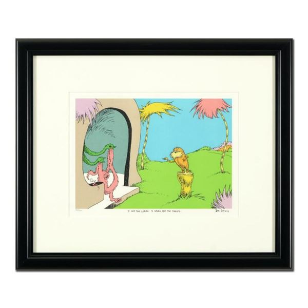 """Dr Seuss, """"I Am The Lorax, I Speak For The Trees"""" Estate Signed Limited Edition"""