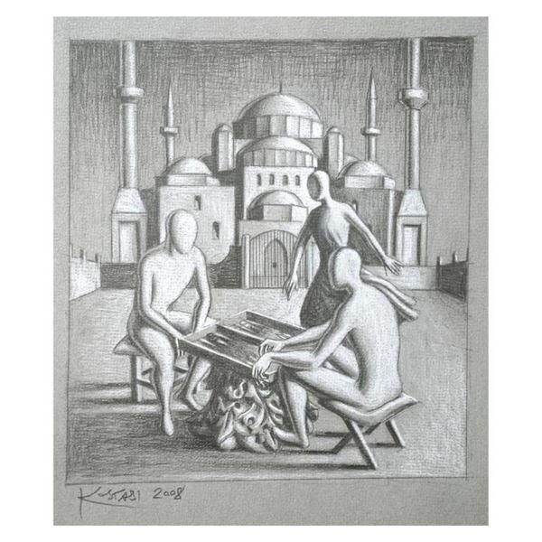 A Matter Of Skill by Kostabi Original