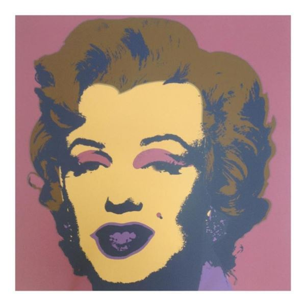 "Andy Warhol ""Marilyn 11.27"" Silk Screen Print from Sunday B Morning."