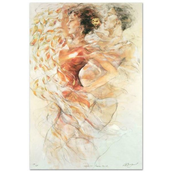 """""""Summer Romance"""" Limited Edition Serigraph by Gary Benfield, Numbered and Hand S"""