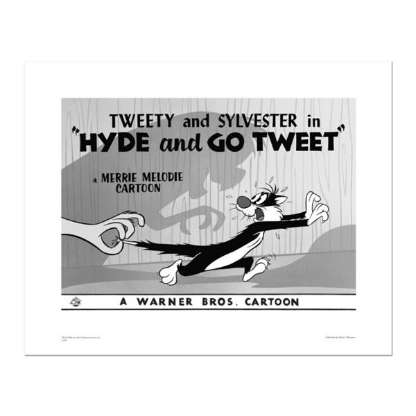 """""""Hyde and Go Tweet, Tail"""" Numbered Limited Edition Giclee from Warner Bros. with"""