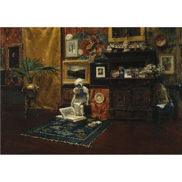 William Merritt Chase - Studio Interior