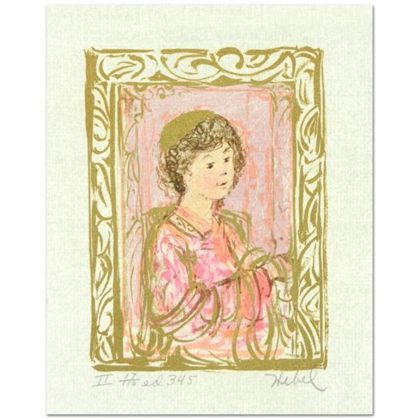 """Edna Hibel (1917-2014), """"Meditation"""" Limited Edition Lithograph with Remarque, N"""