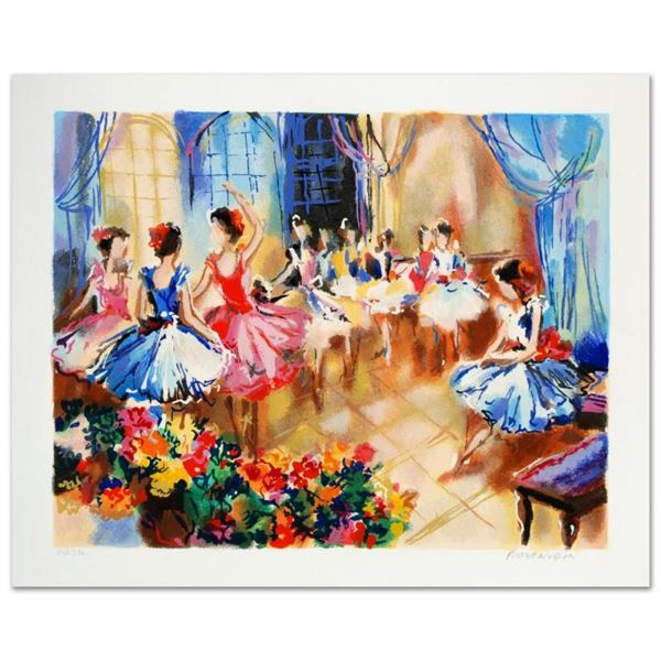 """Ballet Studio"" Limited Edition Serigraph by Michael Rozenvain, Hand Signed with"