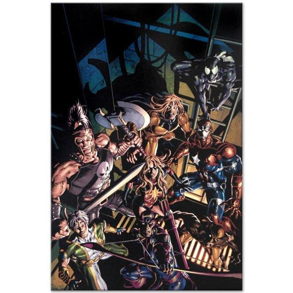 "Marvel Comics ""Dark Avengers #10"" Numbered Limited Edition Giclee on Canvas by M"