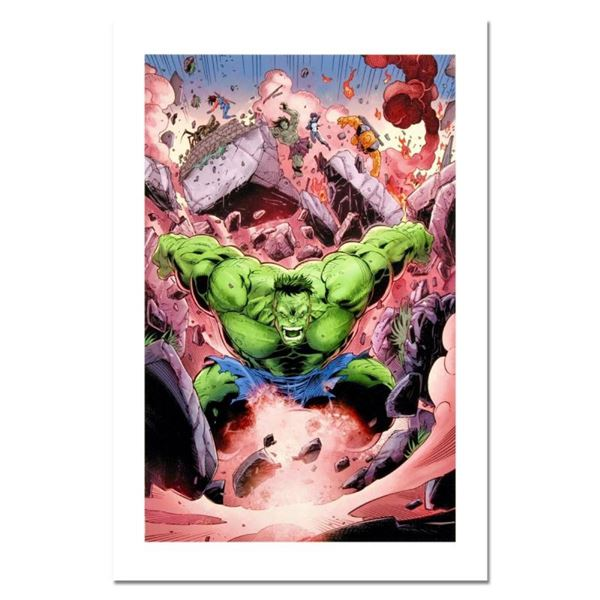 "Marvel Comics, ""Skaar: Son of Hulk #11"" Numbered Limited Edition Canvas by Ron L"