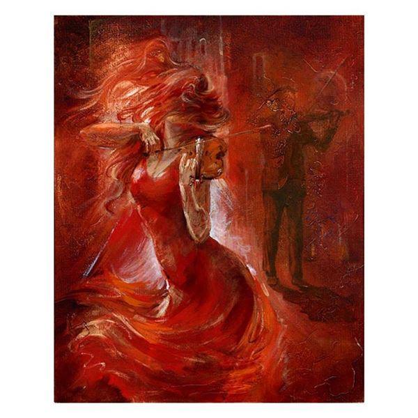 """Lena Sotskova, """"Imagination"""" Hand Signed, Artist Embellished Limited Edition Gic"""