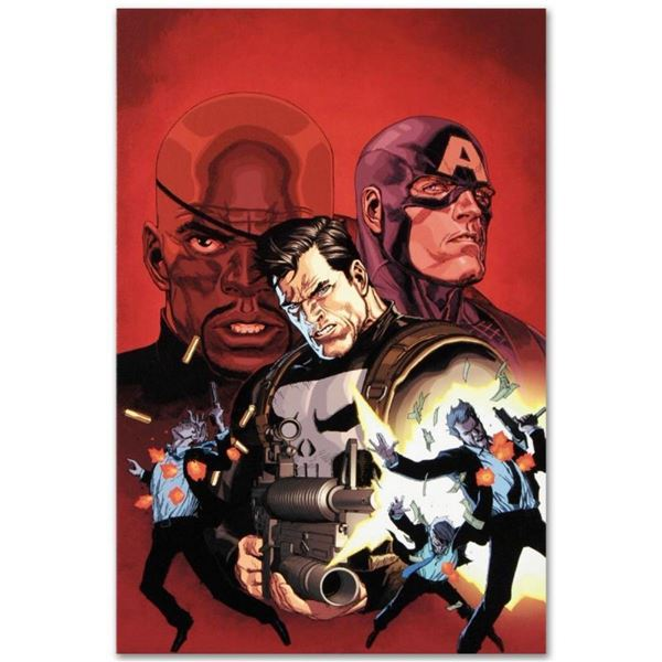 "Marvel Comics ""Ultimate Avengers #1"" Numbered Limited Edition Giclee on Canvas b"