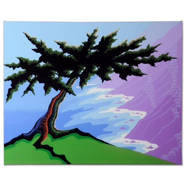 """Cypress Point"" Limited Edition Giclee on Canvas by Larissa Holt, Numbered and S"
