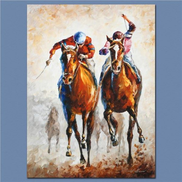 """Leonid Afremov (1955-2019) """"Contenders"""" Limited Edition Giclee on Canvas, Number"""