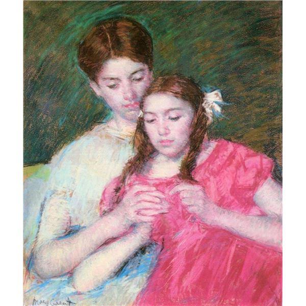Mary Cassatt - Woman And Girl