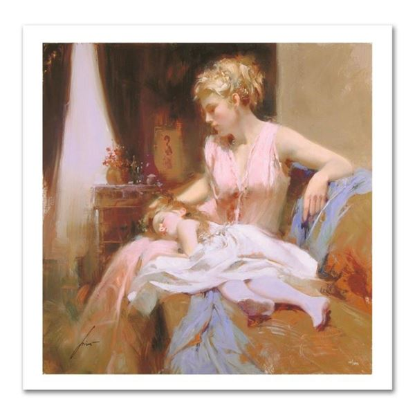 """Pino (1939-2010) """"Long Day"""" Limited Edition Giclee. Numbered and Hand Signed; Ce"""