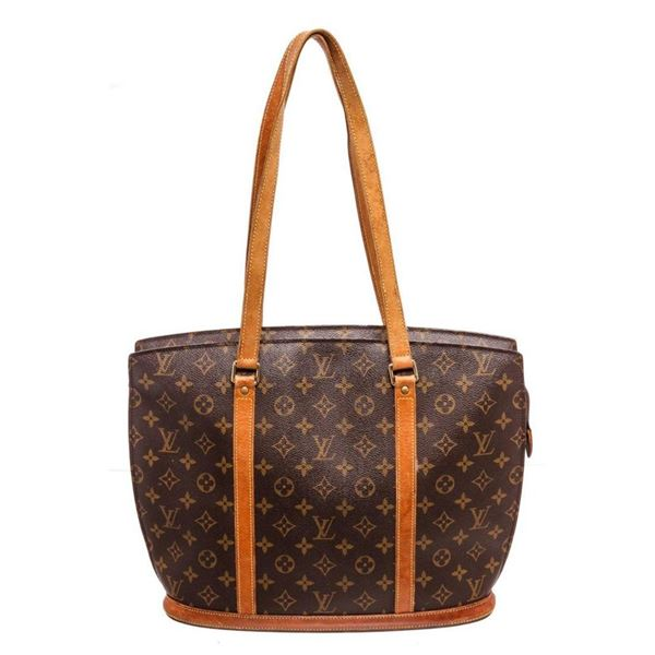 Louis Vuitton Brown Monogram Babylone Tote Bag