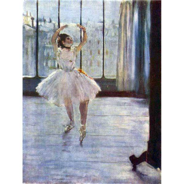 Edgar Degas - Dancer Being Photographed