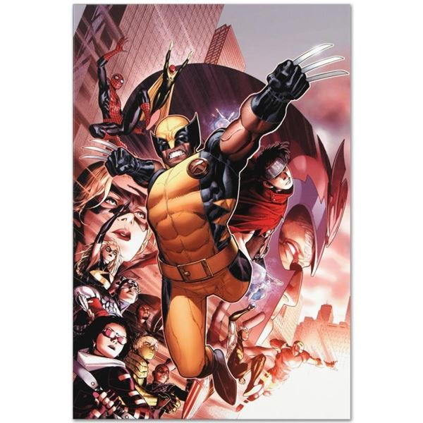 """Marvel Comics """"Avengers: The Children's Crusade #2"""" Numbered Limited Edition Gic"""