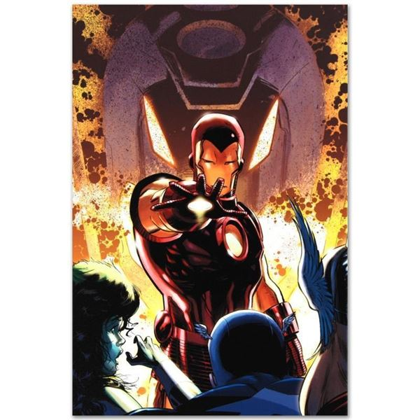 """Marvel Comics """"Iron Age #1"""" Numbered Limited Edition Giclee on Canvas by Lee Wee"""