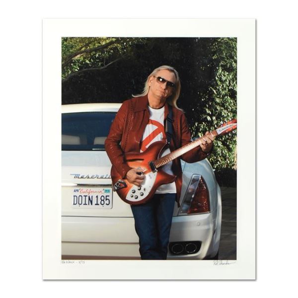 """Rob Shanahan, """"Joe Walsh"""" Hand Signed Limited Edition Giclee with Certificate of"""
