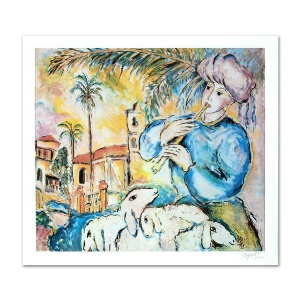 """""""Jaffa"""" Limited Edition Lithograph by Zamy Steynovitz (1951-2000), Numbered and"""
